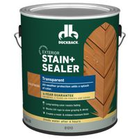 STAIN-SEALR TRANS CHALETWD EXT