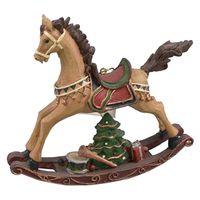 ORNAMENT ROCKING HORSE
