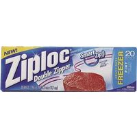 SC Johnson 00399 Ziploc Food Freezer Bags