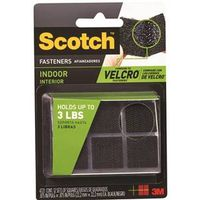 Scotch RF4721 Self-Stick Fastener Square 7/8 in L x 7/8 in W