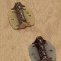 HINGE SPRG 3IN ZN BLISTER 2/PK