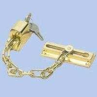 CHAIN DOOR GUARD BRASS