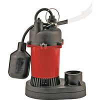 Little Giant RL-SP25T Submersible Sump Pump With Tethered Float Switch
