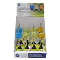 LIGHT STICK BALL SOLAR COL GLS