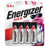 BATTERY MAX AA ALKALINE 4PK