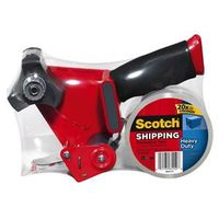 Scotch 3850-ST Shipping Packaging Tape With Dispenser