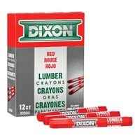 Dixon Ticonderoga 52000 Extruded Hexagonal Lumber Crayon