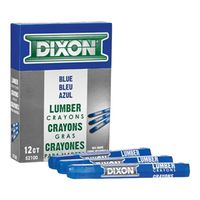 Dixon Ticonderoga 52100 Extruded Hexagonal Lumber Crayon