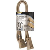 Powerzone OR681503 SPT-3 AC Extension Cord