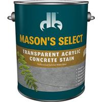 Mason'S Select DB0060804-16 Transparent Concrete Stain