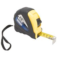 TAPE MEASURE RBBR SHL 1INX25FT