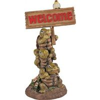 Boston Harbor PTA040A-R2A-AA-1 Solar Light Welcome Sign