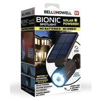 SPOTLIGHT SOLAR PLSTC BLK 25FT