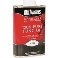 Old Masters 90008 100% Pure Tung Oil