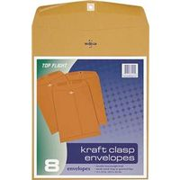 ENVELOPES CLASP BRN 10X13IN