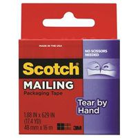 Scotch 3841 Tear-By-Hand Mailing Packaging? Tape