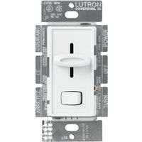 Lutron Electronics SFSQ-LFH-WH Fan/Light Controls