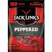 JERKY BEEF PEPPERED 1.25OZ