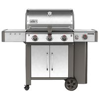 GRILL NG SS 3-BURNER W/SIDE