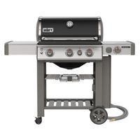 GRILL NATURAL GAS BLACK E-330