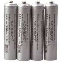 Moonrays 97126 Rechargeable Replacement Solar Battery