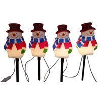 MARKERS SNOWMAN PATHWAY 4PC