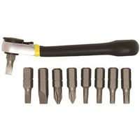 General Tools 80075 Ratchet Offset Screwdriver Set