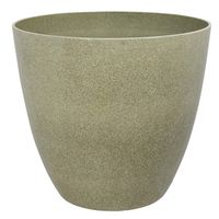 PLANTER RESIN STONE FNSH 18IN