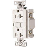 RCPT DPLX AFCI TR 20A/125V WH