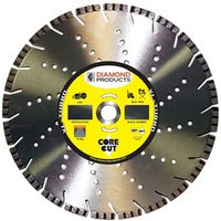 Diamond Products 19312 Turbo Segmented Rim Circular Saw Blade