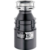 In-sink-erator Badger 5 76037H Continuous Feed Food Waste Disposer