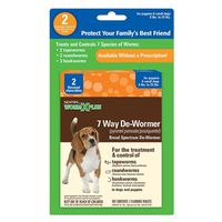 DE-WORMER 7 WAY SMALL DOG 2CT