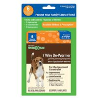 DE-WORMER 7 WAY SMALL DOG 6CT