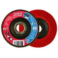 FLAP DISC 4-1/2IN 40G CONICAL
