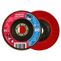 FLAP DISC 4-1/2IN 60G CONICAL
