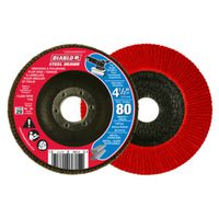FLAP DISC 4-1/2IN 80G CONICAL
