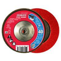 FLAP DISC 7IN 40G W/HUB