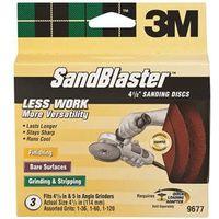 SandBlaster 9677 Multi-Layer Assorted Grinding Disc Kit