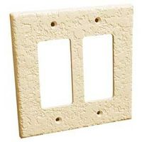 WALLPLATE 1-DUPLEX KNOCKDOWN