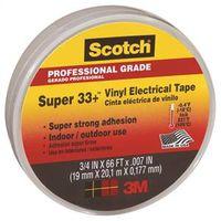 Scotch Super 33+ SUPER33-3/4X66 Low Voltage Electrical Tape