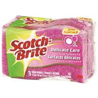 Scotch-Brite DD-3-CA Delicate Care Scrub Sponge