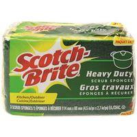Scotch-Brite HD-3-12-CA Scrub Sponge