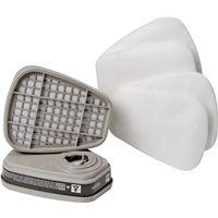 Tekk Respirator 6022PA1-A-C Dual Cartridge Paint Respirator Supply Kit