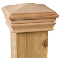 Marine Ornamental 106584 High Point Pyramid Post Cap