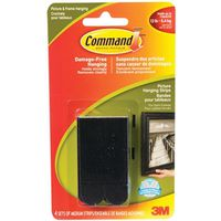 Command 17201BLK-C Medium Removable Picture Hanging Strip