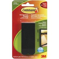 Command 17206BLK-C Large Picture Hanging Strip