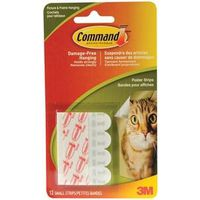 Command 17024C Small Poster Strip