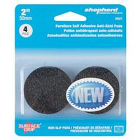 PAD ROUND SURFACE GRIP 4PK 2IN