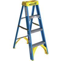 Werner 6004 Single Sided Step Ladder