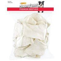 TREAT RAWHIDE CHIP WHITE 1LB
